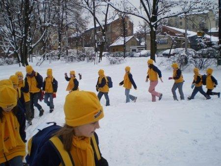 Akcja Zima w Domu Kultury Podgórze