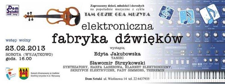 Elektroniczna fabryka dźwięku