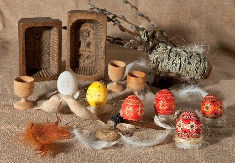 Palmy i pisanki wielkanocne, wystawa i kiermasz w Muzeum Etnograficznym