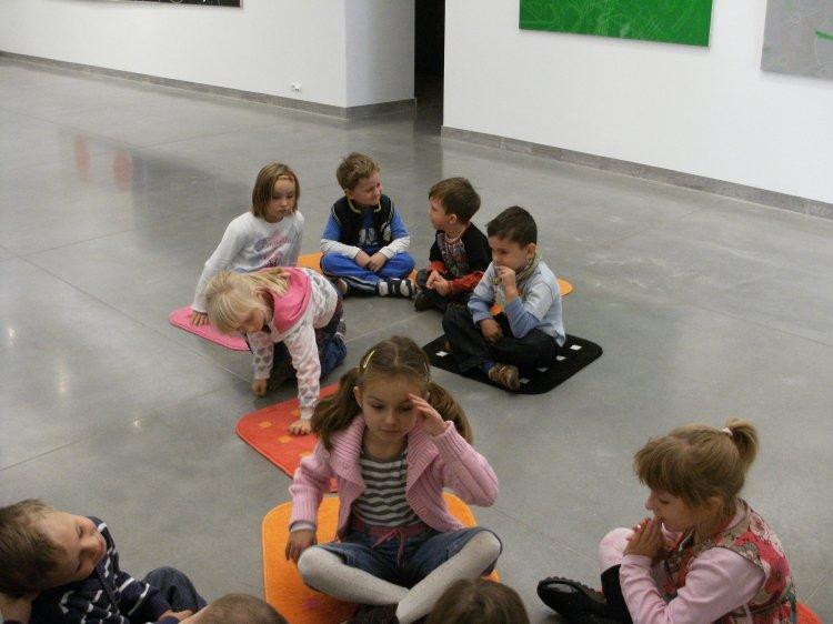 zima w Państwowej Galerii Sztuki w Sopocie