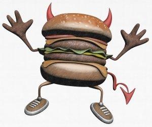 Dzieci i fast foody