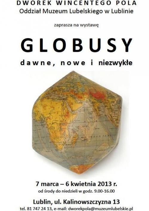 Globusy dawne, nowe i niezwykłe – Lublin