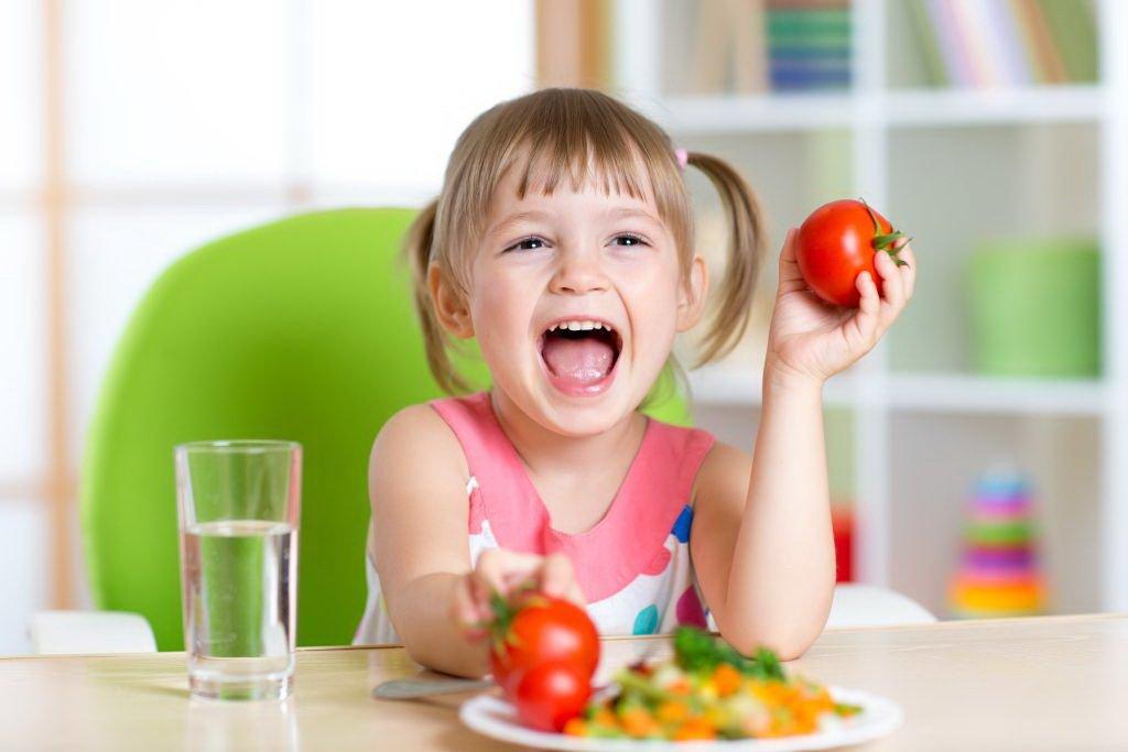 warzywa w diecie dzieci