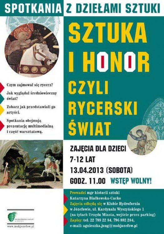 Sztuka i honor czyli rycerski świat