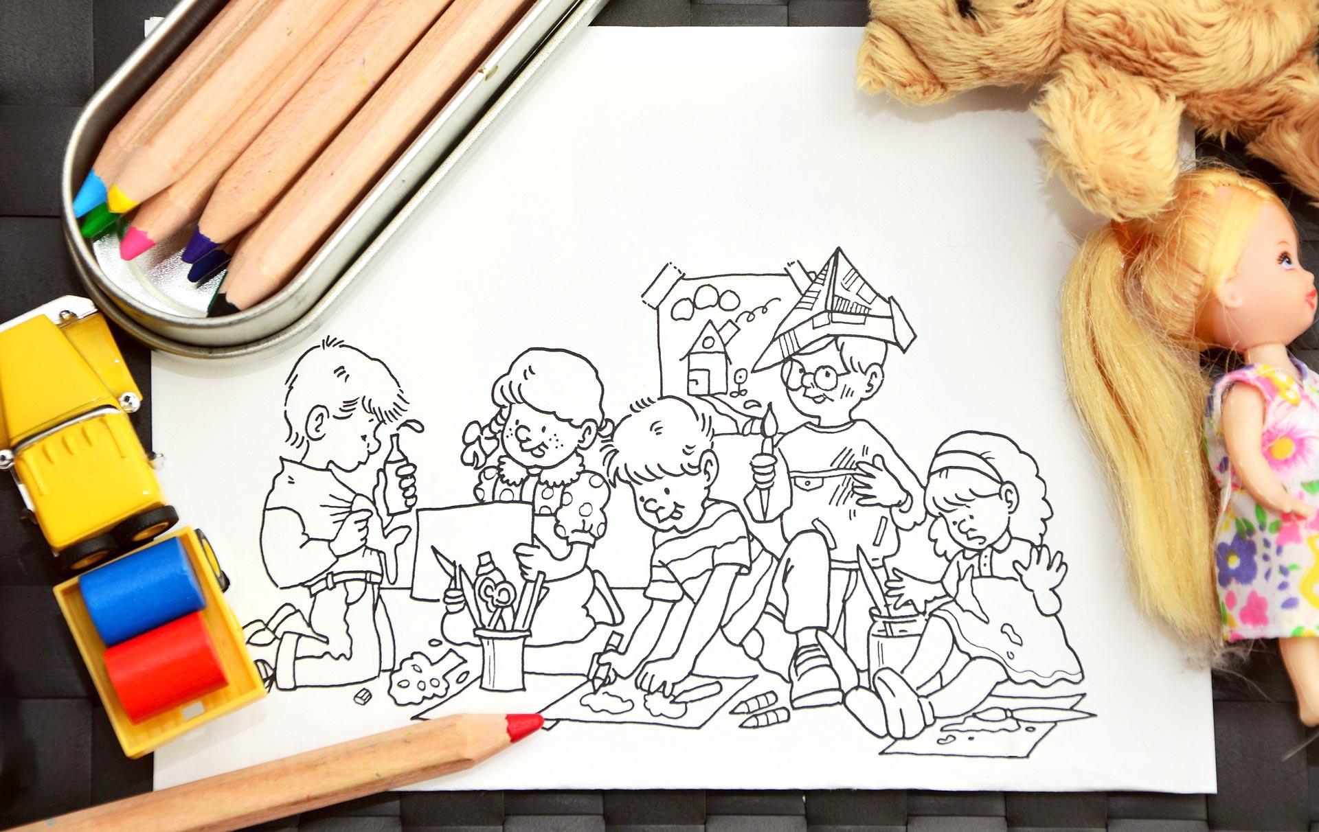 Kolorowanki edukacyjne do pobrania. Darmowe malowanki do druku