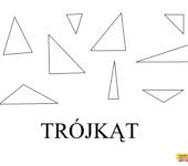 Figury geometryczne kolorowanka