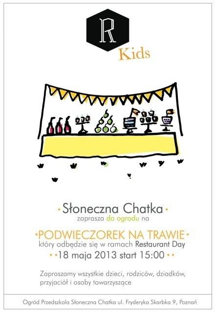 Restaurant Day dla Dzieci w Poznaniu