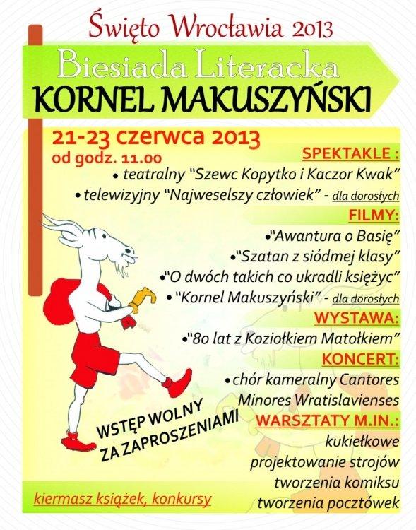 Biesiada Literacka: Kornel Makuszyński