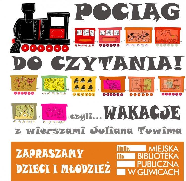 Pociąg do czytania! Biblioteka w Gliwicach