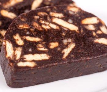 salame di cocolato przepis na czekoladowe salami