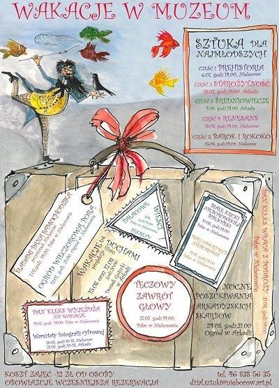 Wakacje z Muzeum w Nieborowie i Arkadii
