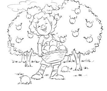 W sadzie