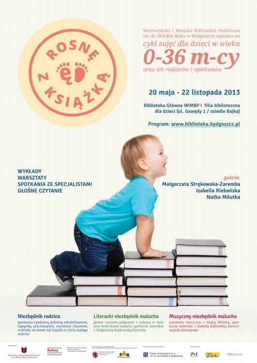 Cykl zajęć dla dzieci w wieku 0-36 miesięcy oraz ich rodziców i opiekunów