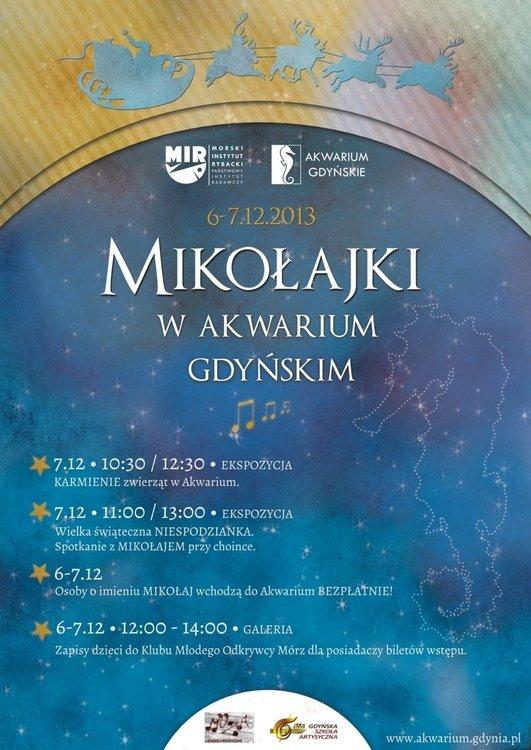 Mikołajki w Akwarium Gdyńskim