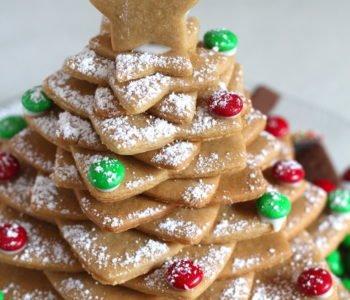 Przepis na świąteczne choinki z piernika