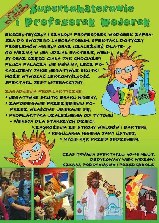 Superbohaterowie i Profesorek Wodorek – Toruń