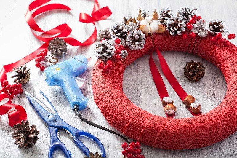 Stroik świąteczny jak zrobić