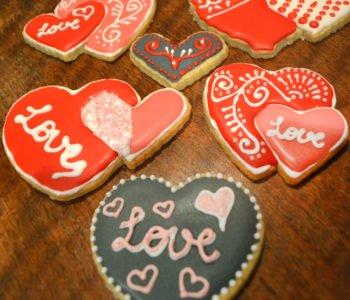 Ciasteczka na Walentynki – przepis na ciastka serduszka