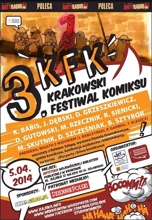 III Krakowski Festiwal Komiksu
