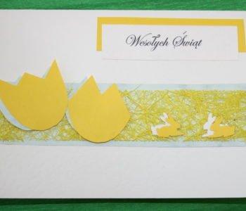 Kolorowe kartki wielkanocne