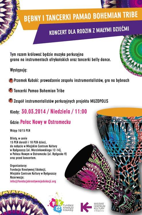 Koncert muzyki afro-amerykańskiej dla Rodzin z Małymi Dziećmi – Bydgoszcz
