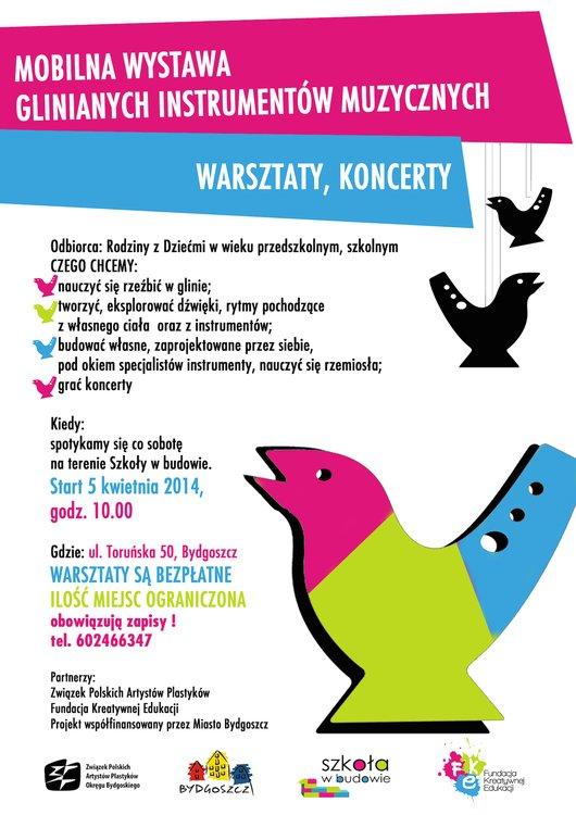 Mobilna Wystawa Glinianych Instrumentów – Bydgoszcz