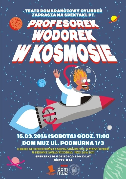 Profesorek Wodorek w kosmosie – Toruń
