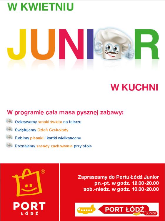 Dziecięce kuchenne rewolucje w Porcie Łódź Junior