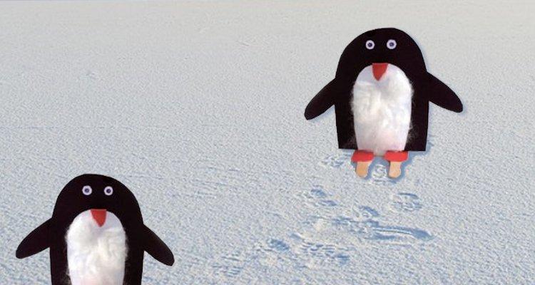 Pingwin z papieru