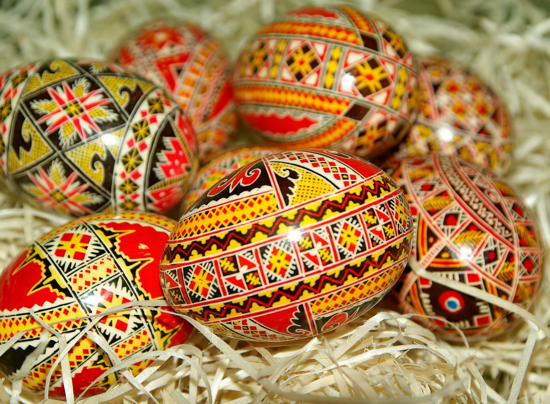 Domowe pisanki na Wielkanoc