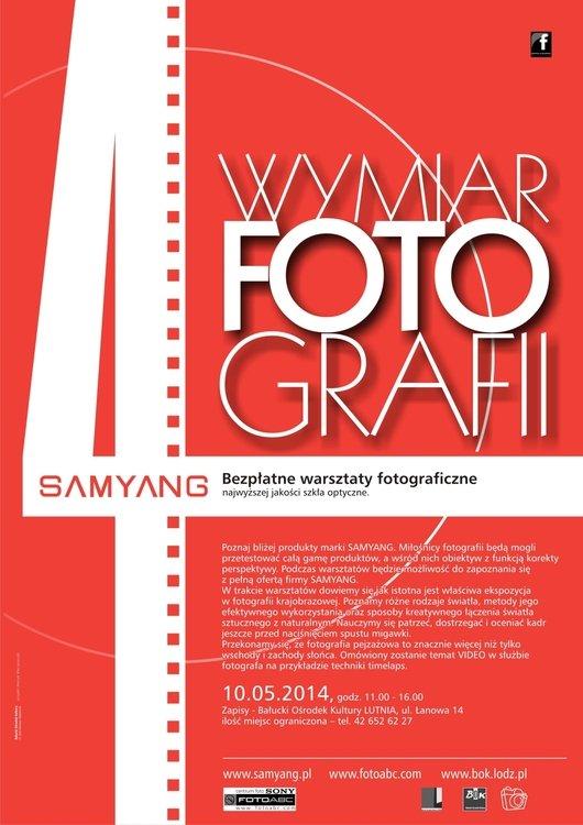 4wymiar fotografii – bezpłatne warsztaty fotograficzne