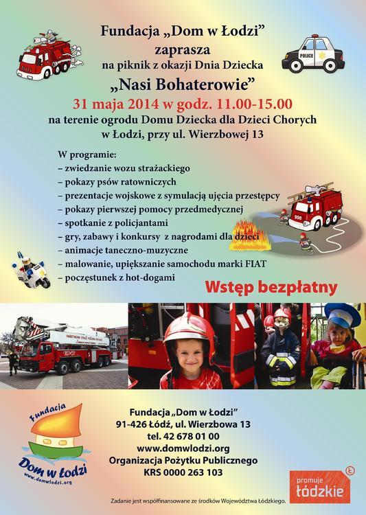 Dzień Dziecka Fundacji Dom w Łodzi