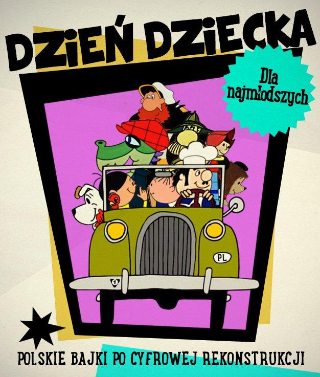 Filmowy Dzień Dziecka z klasycznymi polskimi bajkami