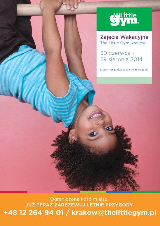 Zajęcia wakacyjne w  The Little Gym Kraków