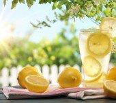 przepis na domową lemoniadę