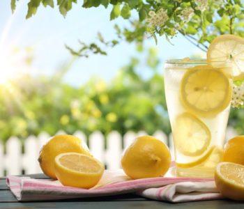 Domowa lemoniada  – przepis