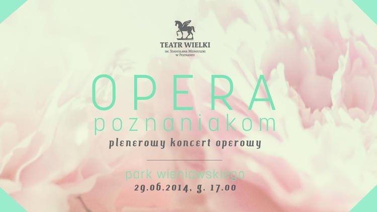 Plenerowy koncert w Poznaniu