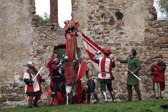 Jarmark Średniowieczny na zamku w Chudowie