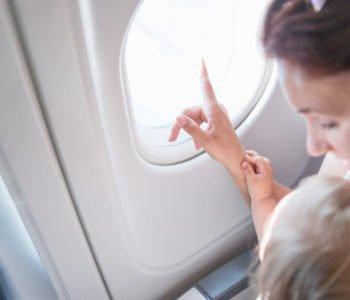Podróż z dzieckiem samolotem