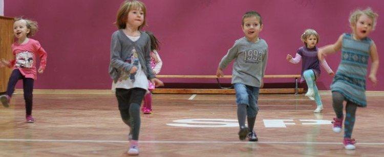 Taniec współczesny dla dzieci
