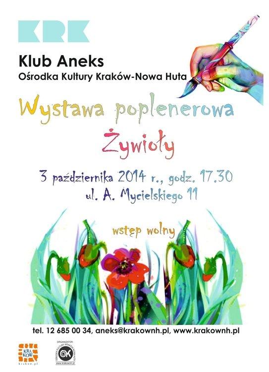 Wystawa poplenerowa Żywioły w Klubie Aneks