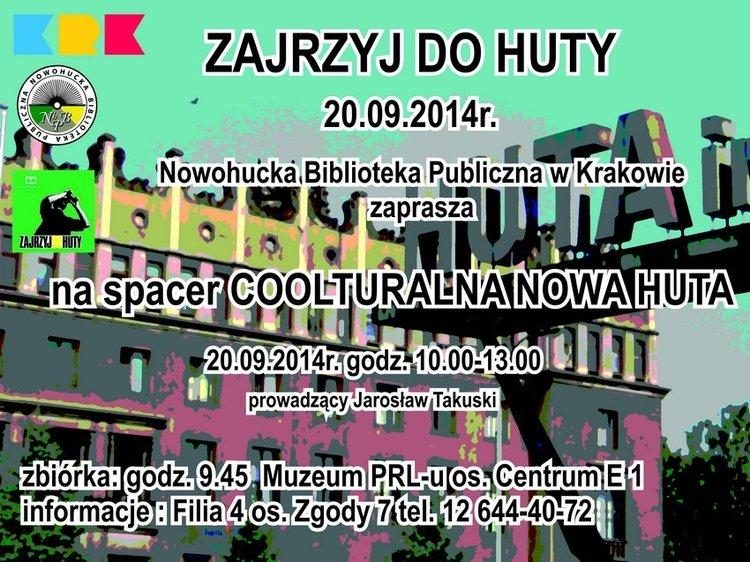 Zajrzyj do Huty 6 w Nowohuckiej Bibliotece Publicznej w Krakowie