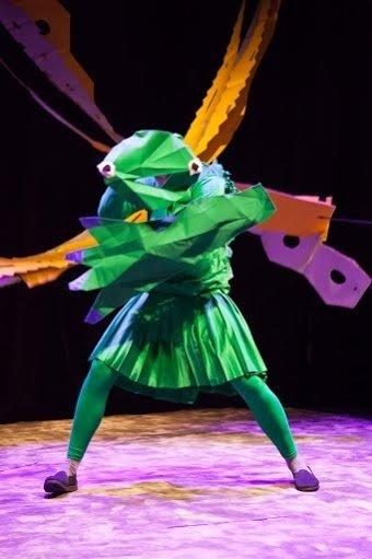 Zielony wędrowiec – Premiera w Olsztyńskim Teatrze Lalek