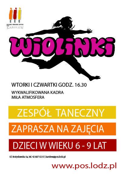 Wiolinki – zajęcia taneczne