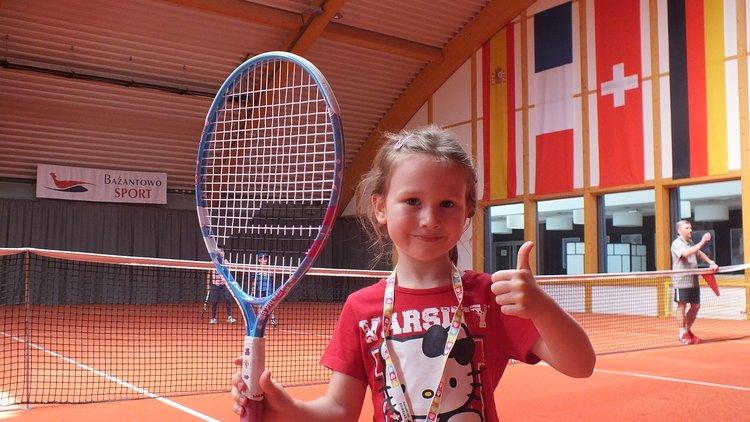 Dziecięcy turniej tenisa