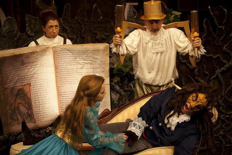 Piękna i Bestia – spektakl muzyczny dla dzieci