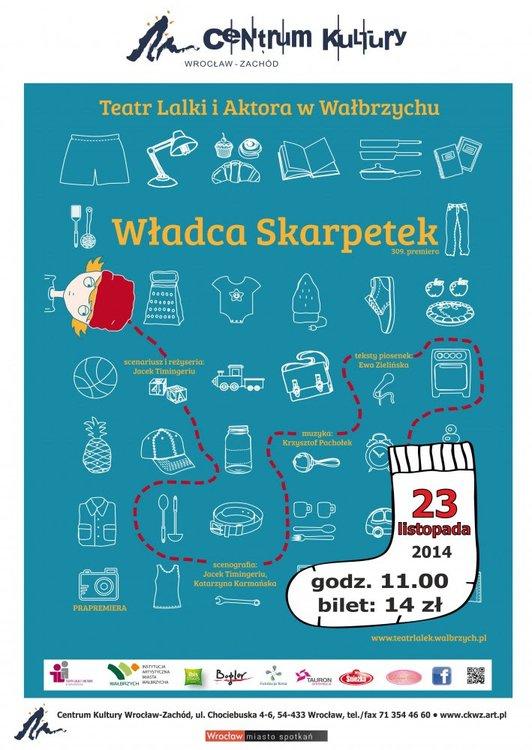 Władca skarpetek – spektakl teatralny dla dzieci