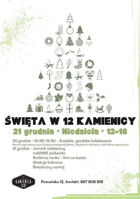 Święta w 12 Kamienicy – Bydgoszcz