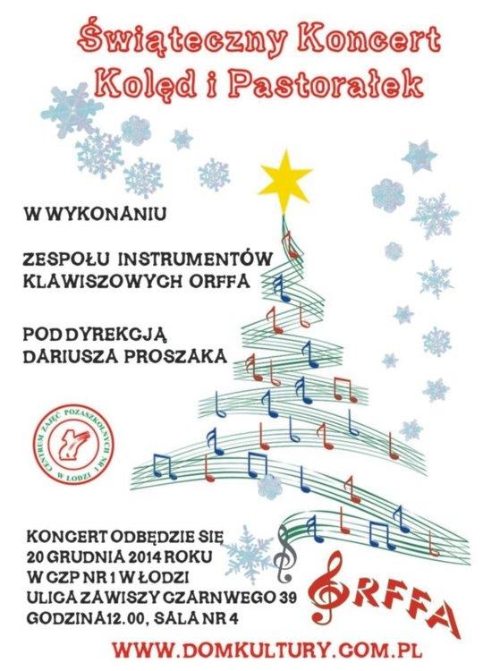 Koncert świąteczny na Zawiszy