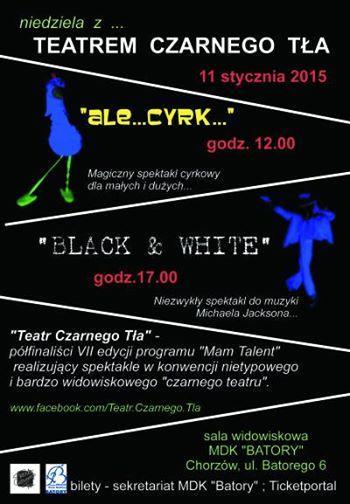 Niedziela z Teatrem Czarnego Tła